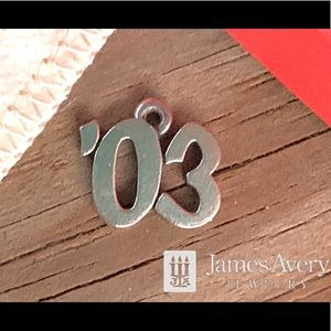 James Avery'03 2003 year or graduation charm